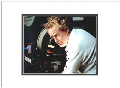 Ridley Scott Autograph Signed Photo - Alien